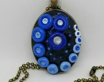 Gradient Blue Necklace