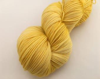Hand dyed yarn Victoria sock -'Sunshine'