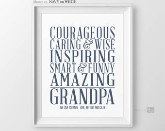 Christmas Gift for Grandfather Gift for Grandparents Gift for Grandpa Gift Grandfather Birthday Gift for Grandad  Gift from Grandchildren