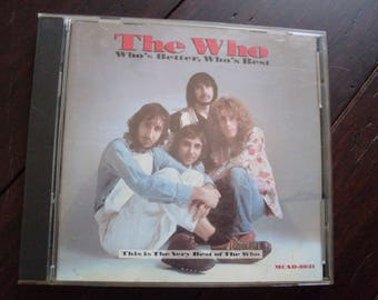 The Who  Who's Better, Who's Best 1988 CD