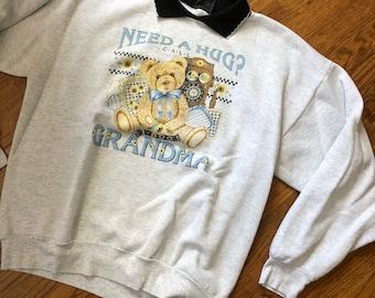1-800-GRANDMA Sweatshirt