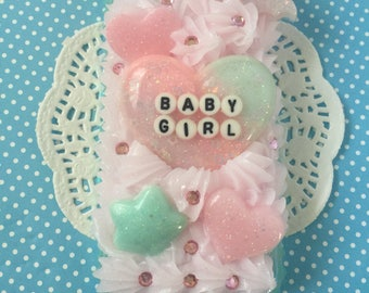 IPhone 5c Baby Girl Decoden Phone case!
