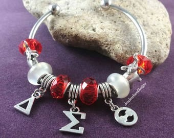 Delta Sigma Theta Bangle