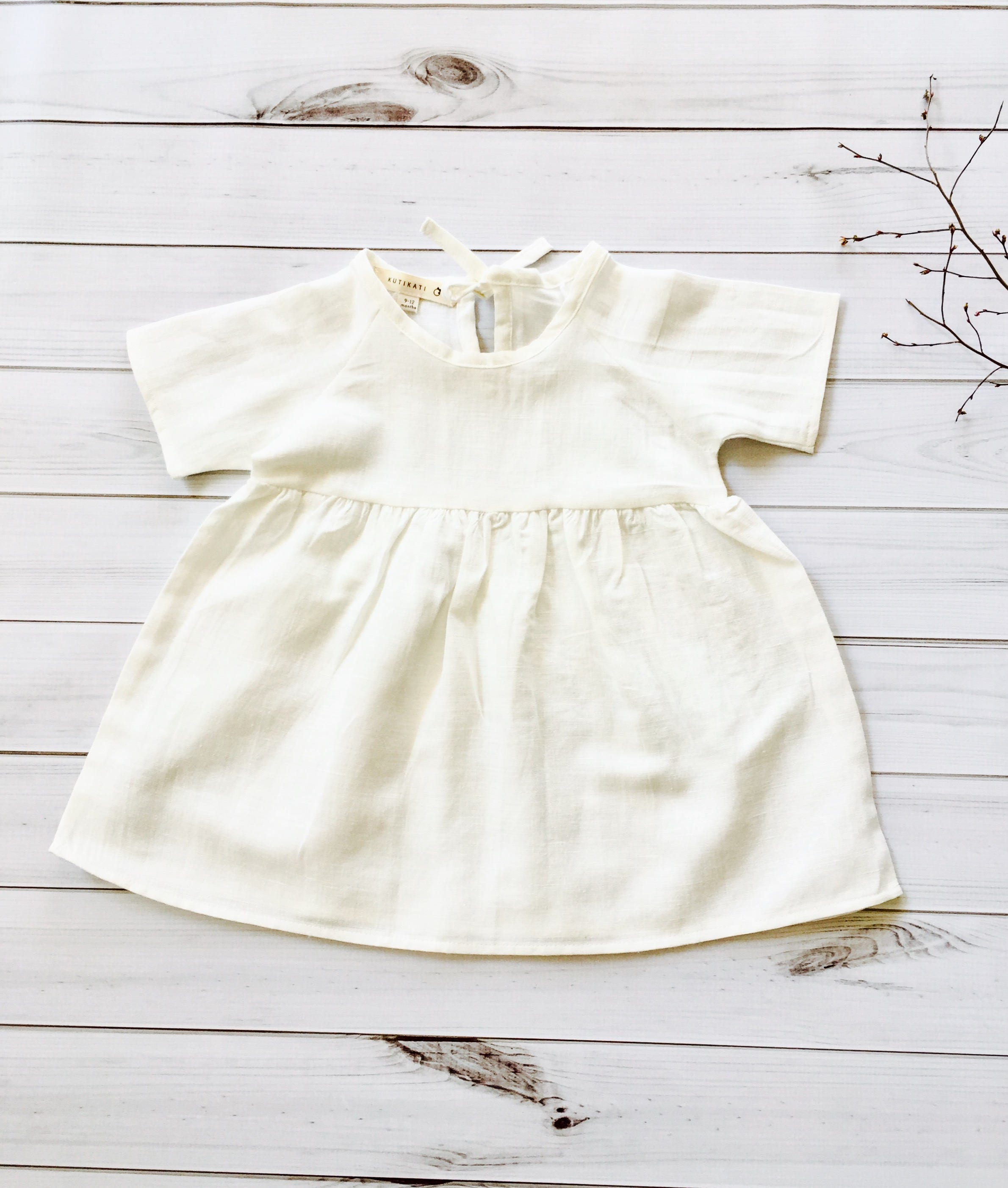 flower girl dress baby girls clothes girls dress 2T 5T linen