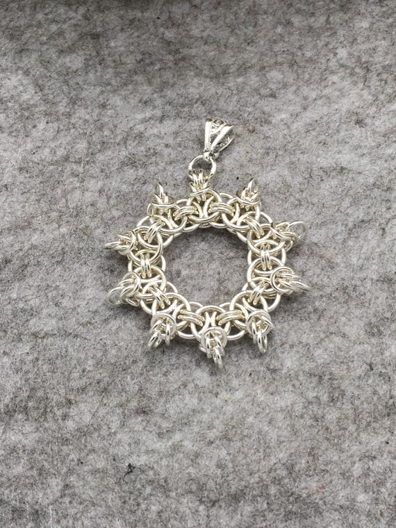 Sterling Silver Helms Star, Hallmarked.