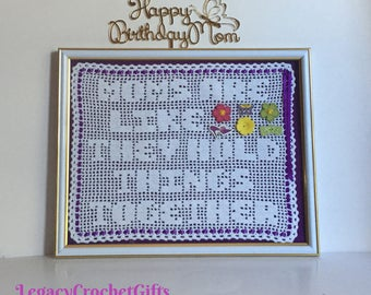 Gift For Mom, Mother's Day, Mom Birthday, Holiday, Gift For Sister, Gift For Aunt, Gift From Daughter, Son, Custom Made, Handmade, Gift Idea