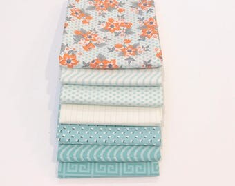 1/2 Yard Bundle Sweet Marion by April Rosenthal for Moda 24040AB - 7 Fabrics
