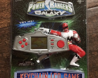 Power Rangers Lost Galaxy LCD Game