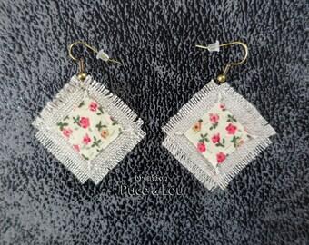 "Earrings ""rose garden"""