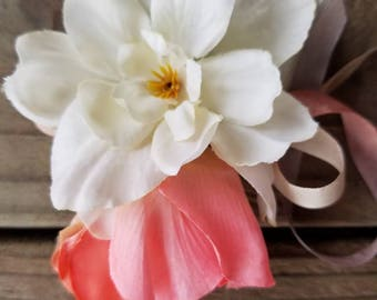 CUSTOM - Pet Collar Flower Adornment, Made-to-order