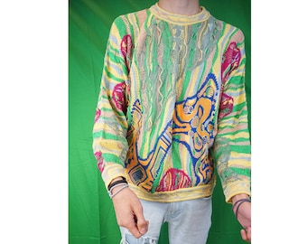 Vintage 90s Authentic Coogi Sweater