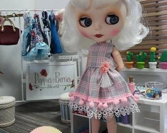 Pink Pompom dress