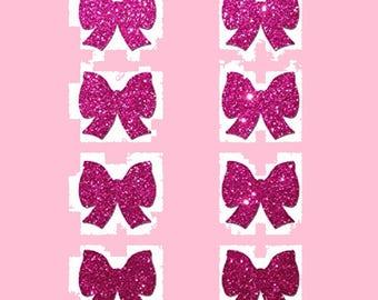 8 Mini Pink Bow Nipple & Body Pasties Nipple Covers  BOGO Free