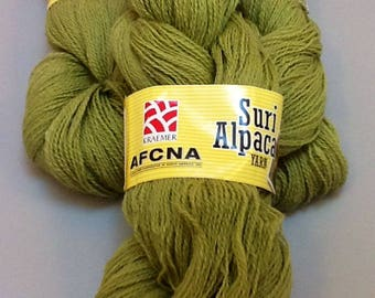 Alpaca Yarn, Meadow (Suri blend)