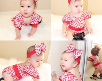 REMIX RED Leotard Baby's and girl's Leotards for dance, playtime, dress up, or any fashionista