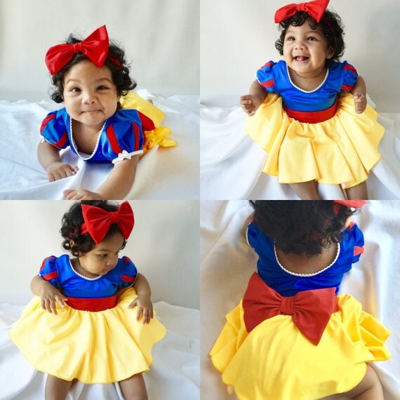 Baby, Girl's dress, SNOW WHITE costume