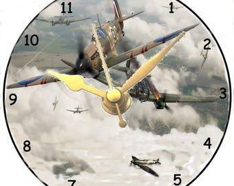 Spitfire CD Clock
