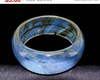 Blue Bracelet Bangle Bracelet Chunky Bracelet Fashion Jewelry Wide Bracelet
