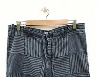 20% OFF Rare Journal Standard Patchwork Pants / Journal Standard Japan / Vintage Patchwork Pants