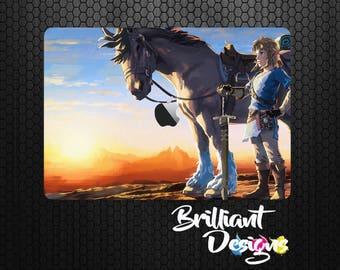 Zelda,Breath of the wild, Link macbook decal macbook skin macbook sticker Macbook Air 11 Macbook Air 13 Mac Pro 13 Retina Macbook 12 Macbook
