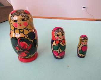 Vintage Nesting Dolls Free Shipping