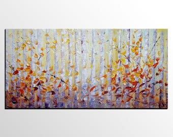 Landscape Oil Painting Original Painting Large Wall Art Large Oil Painting Large Art Canvas Wall Art Abstract Art Living Room Wall Art Deocr