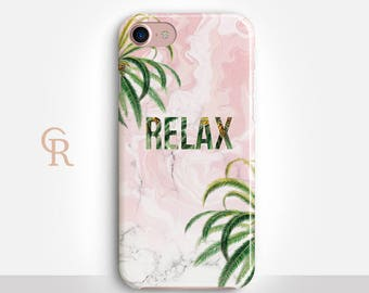 Relax Phone Case For iPhone 8 iPhone 8 Plus - iPhone X - iPhone 7 Plus - iPhone 6 - iPhone 6S - iPhone SE Samsung S8 iPhone 5 Inspirational
