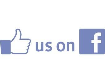 Social Media Promotion - Like us on FB
