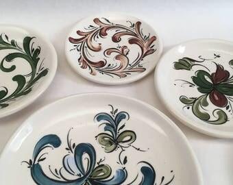 Rosemaling Trinket Plate