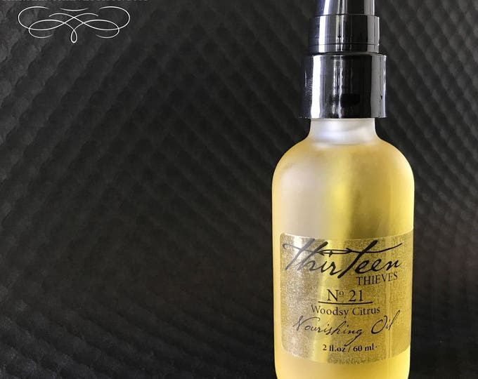 Natural Nourishing Oil for Wet Shave