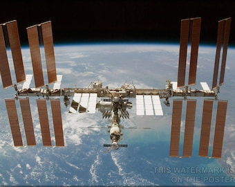 Poster, Many Sizes Available; International Space Station P2