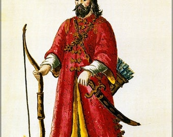 20% Off Sale - Poster, Many Sizes Available; Marco Polo Tartar Costume