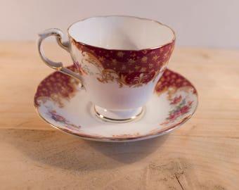 Paragon Rockingham Vintage Tea Cup and Saucer