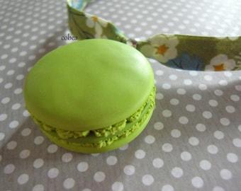 "LIBERTY Mitsi green ""pistachio macaroon"" necklace"