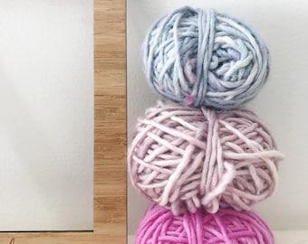 Merino, Alpaca, Silk - Hand dyed yarn pack 75g