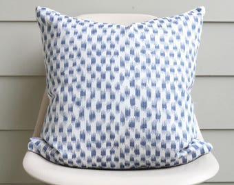 "20"" x 20"" Blue Spot Pillow Cover - COVER ONLY"