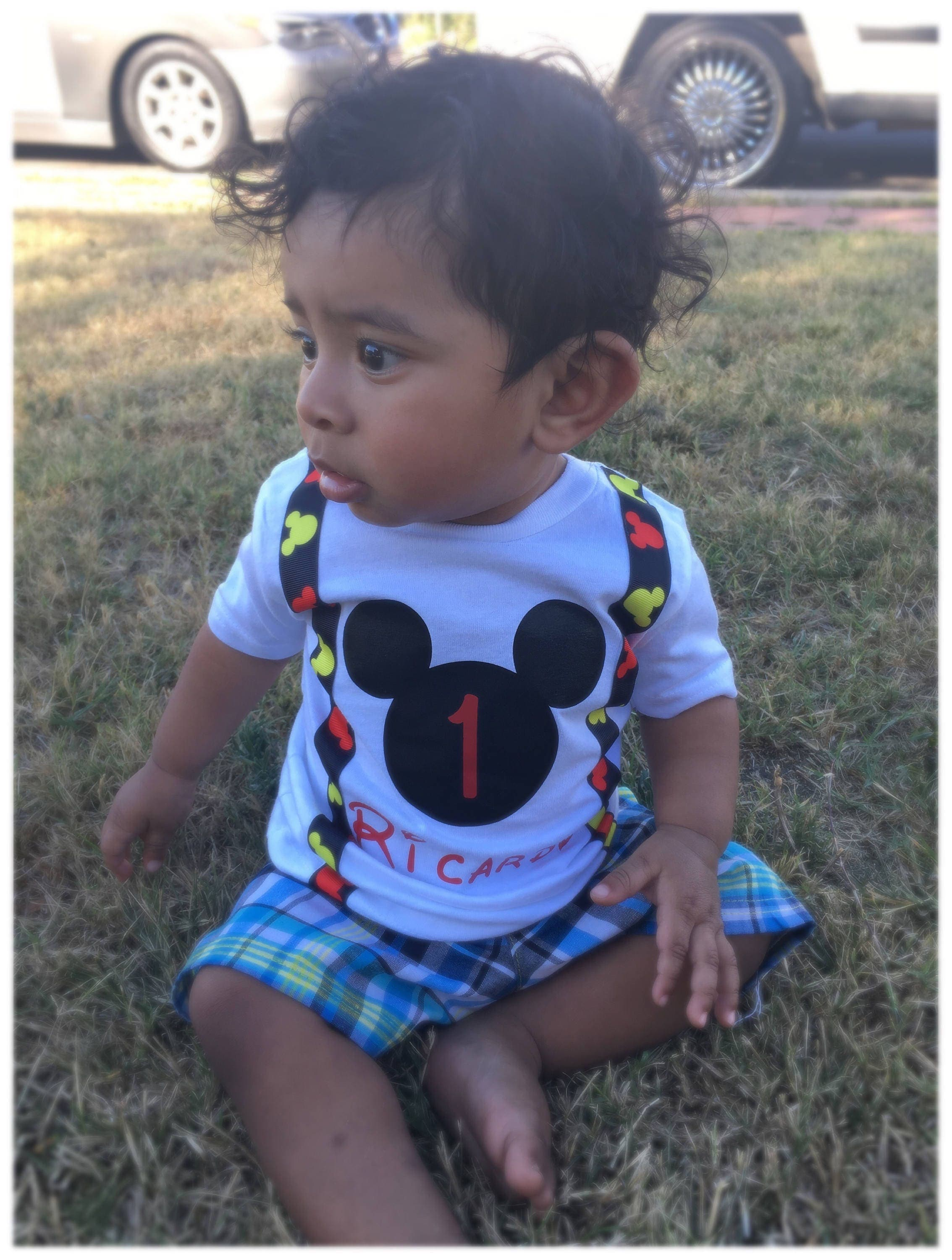 Mickey Mouse Birthday outfit Mickey Mouse Birthday shirt Mickey