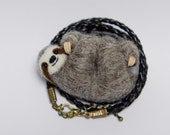 Sloth necklace - reserved for Matsvei Zhdanovich