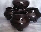Glossy cauldrons