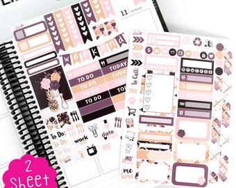KP D76 Girl Boss Designer Planner Sticker Kit - Mini Kit - Erin Condren Life Planner!!