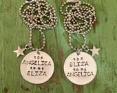 Hamilton Angelica Eliza necklace set