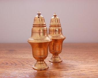 Brass Shaker Set