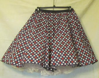 Stars of Independence - square dance skirt