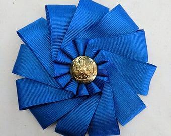 Pelican Cockade - Louisana Civil War Button - Secession Rosette - SCA