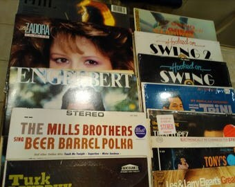 Vintage 1960s, 1970s, maybe 1980s Vinyl Records (LPs)