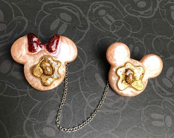 Mouse Pancake Sweater Clips
