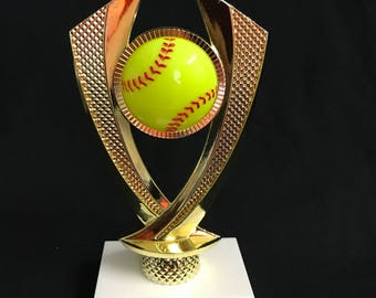 softball trophy softball award customize it with your words