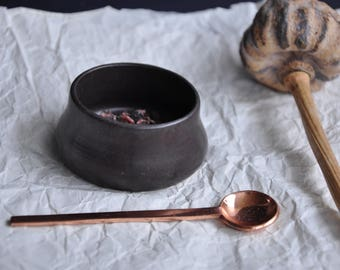 New Black Bowl,Pottery Bowl, Ceramic Bowl