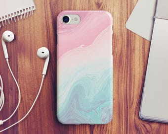 Pastel Marble IPhone 7 Case 8 Wood X 6s