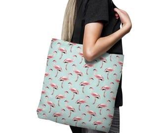 Flamingo Tote bag, Tote bag, Shopping Bag,  Beach Bag, flamingo bag, Market Tote, Tropical tote bag, Summer tote, Tropical, Animal, Flamingo